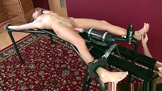 Tickle Orgasm & Fucking Machine