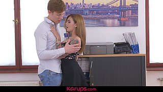 Karups - Horny Secretary Lara Duro Gets Banged By The Boss