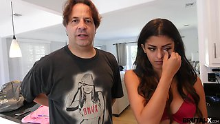 Brutal X - Sophia Leone - Rough-fucking stepdad