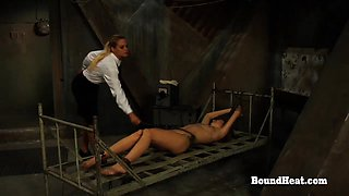 No Escape 2 Teen Watch Her Sister In Harsh Bondage And Punishment