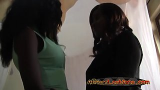 ebony girls megan and veronica make love