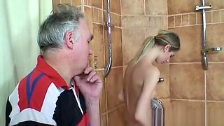 Beautiful Teen Fucked Her Old Neighbour Instead Of His Wife