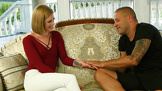 Euro virgin gets fucked hard