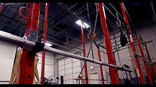 hot blonde fucks at the gym watch part2 on uniteporn com