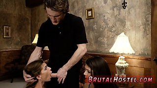 Brutal office and rough car Two young sluts, Sydney Cole and