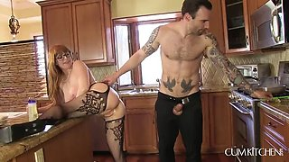 CUMKITCHEN MacNCheese with Thick French Meat with Penny Pax