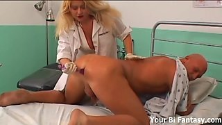 strapon nurse fantasy is about to come true
