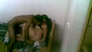 Curvaceous and young Indian girl seduced and fucked on the bed