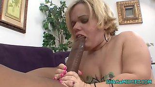 big black cock for a midget babe