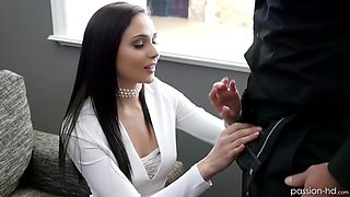 rich babe ariana marie seduces her married real estate agent
