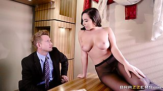 Hiring Karlee Grey to show this wife how to fuck her husband is fun