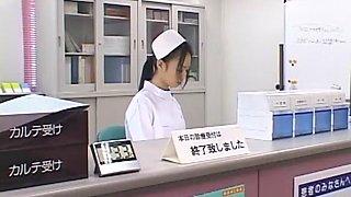 Exotic Japanese girl Aino Kishi in Best Nurse, Medical JAV clip