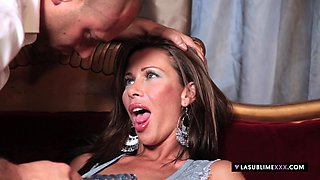 LaSublimeXXX MILF Aurora Oliveira obsessed for Anal sex