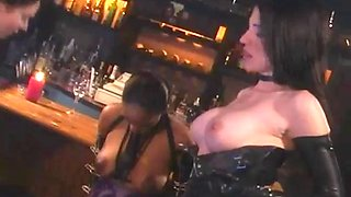 Lesbian Latex Slaves and Mistress