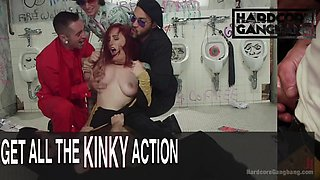 redhead whore lauren phillips, gangbang double-anal dominate