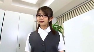 Crazy Japanese girl Ruri Nanasawa in Hottest Office, Doggy Style JAV scene