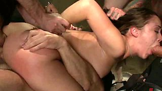 Hot Young Teen Kidnapped & Gangbanged