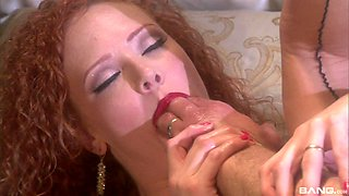 Dude penetrates Audrey Hollander's asshole and uses toys to tease her