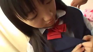 Japanese school girl pov