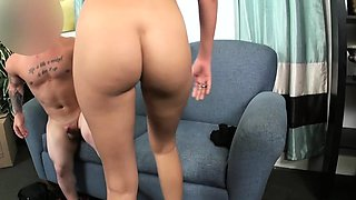 Inked casting babe pov fucked by midget agent
