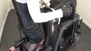 Madame c fucks rubber doll scarlet harlot
