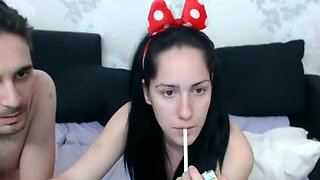 Crazy homemade spymania, Girlfriend adult clip