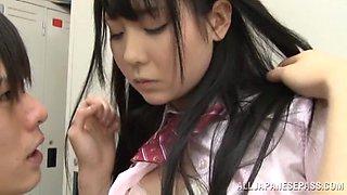 Japanese Schoolgirl Wants To Fuck In The Locker Room