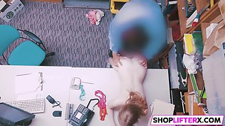 shoplifting gal dolly gets punished
