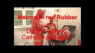 TheRC - Matron In RedRubber DoubleBalloon Catheter PissParty